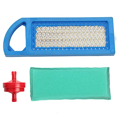 Trustsheer Air Filter & Pre Filter for Briggs and Stratton 795115 797008 794422 698083 697634 697014 697153 695547 697776 John Deere GY20573 M147489 M149171 Lowes 59471 Craftsman 33425 Stens 102-875