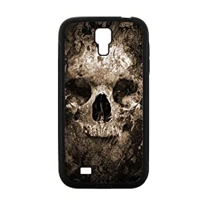 Scary Skull personalized creative clear protective cell phone case for Samsung Galaxy S4