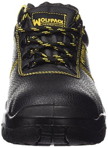 Wolfpack 15018100 Chaussures de sécurité en cuir Noir Taille 36