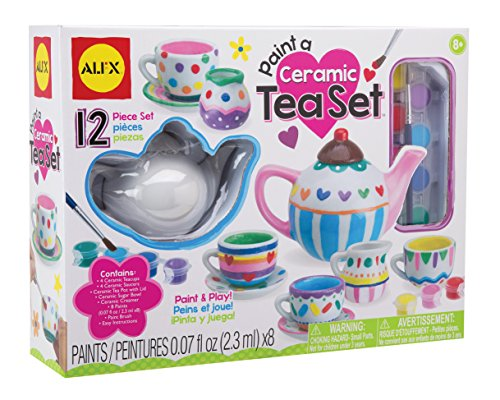 ALEX Toys Craft Paint A Ceramic Tea Set (Alex Tea)