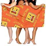 Bored-Games-Board-Gaming- Fitness Towels Extra Absorbent Polyester Bath Towels