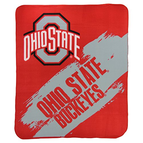 (The Northwest Company NCAA Collegiate School Logo Fleece Blanket (Ohio State Buckeyes, 50