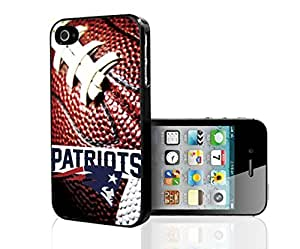New England Patriots Football Sports Hard Snap on Phone Case (iPhone 4/4s)