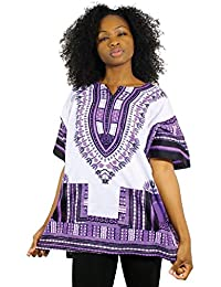 Traditional Thailand Style Dashiki - Available in Several Color Combinations