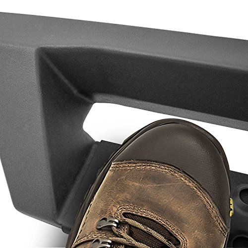 (Westin 56-14015 HDX Drop Nerf Step Bars, Textured Black)