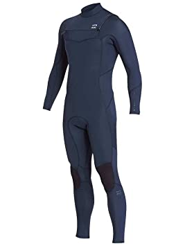 Billabong 2018/19 Furnace Absolute 5/4mm Chest Zip Wetsuit Slate L45M09 Wetsuit Sizes