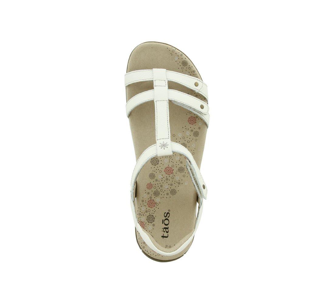 Taos Women's Trophy Sandal B00EQ9WVNU 9 M US White