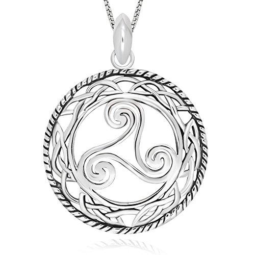 Round Celtic Knot Pendant - 2