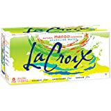La Croix Sparkling Water, Mango, 12 oz Can (Pack of 8)