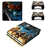 FINAL FANTASY XV Stylish Design Vinyl Skin Decal for PS4 PRO Edition
