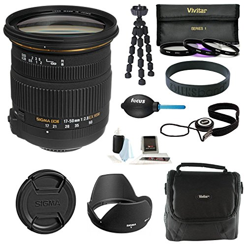Sigma 17-50mm f/2.8 f2.8 EX DC OS HSM Lens Black for Nikon - 2