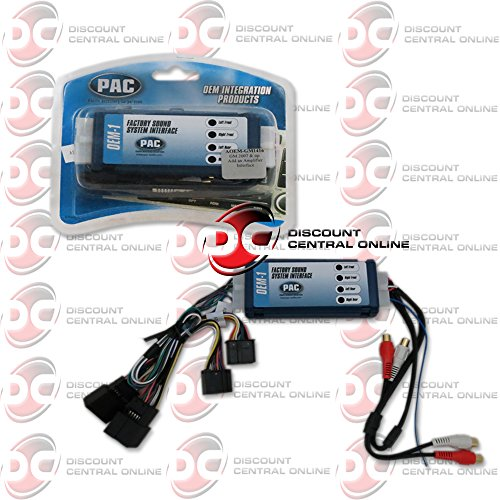 PAC Premium Amplifier Add-On/replacement Radio Sound System Interface Kit GM - PAC - Factory Radio Interface