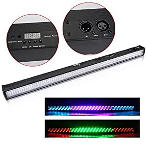 Amazon.com: Sinuote 40W 252 LED 10mm RGB DMX Wall Light DJ