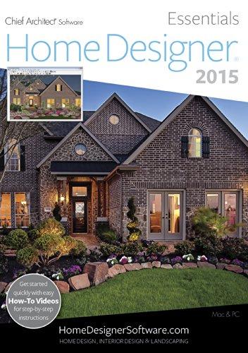 Home Designer Essentials 2015 [Download] (Floor Plan Software Mac)