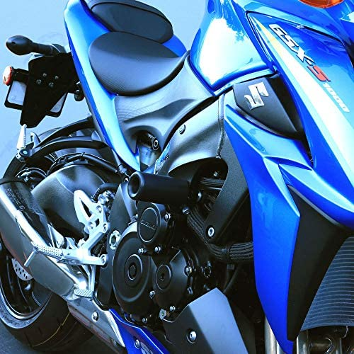 Blue OES Frame Sliders and Spools 2016 2017 2018 2019 Suzuki GSXS1000 GSX-S1000