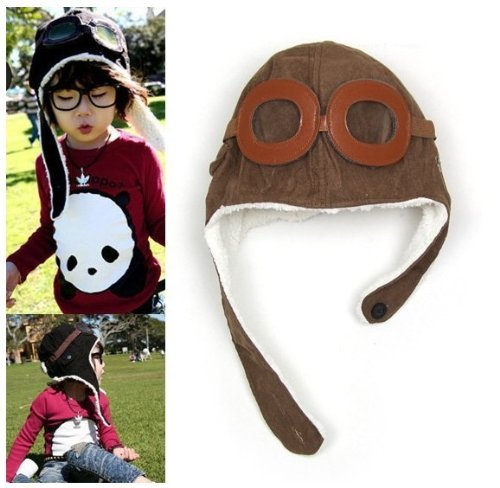 VISKEY Warm Baby Kid Toddler Winter Earflap Pilot Cap Hat...