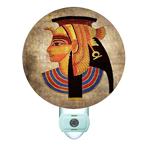- Egyptian Goddess Decorative Round Night Light