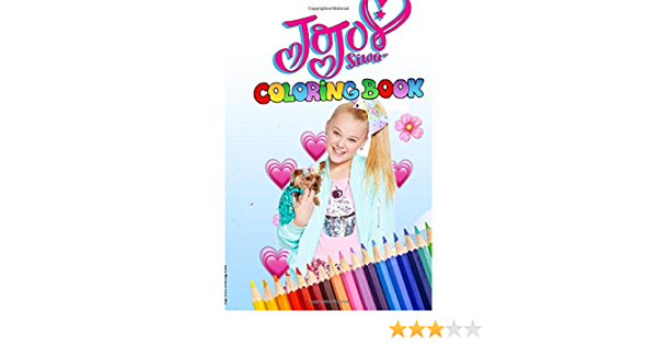 - JoJo Siwa Coloring Book: JoJo Siwa Coloring Book With Exclusive Images For  Kids And Teen (US Edition): Publishing, JoJo Coloring Book: 9781651240939:  Amazon.com: Books