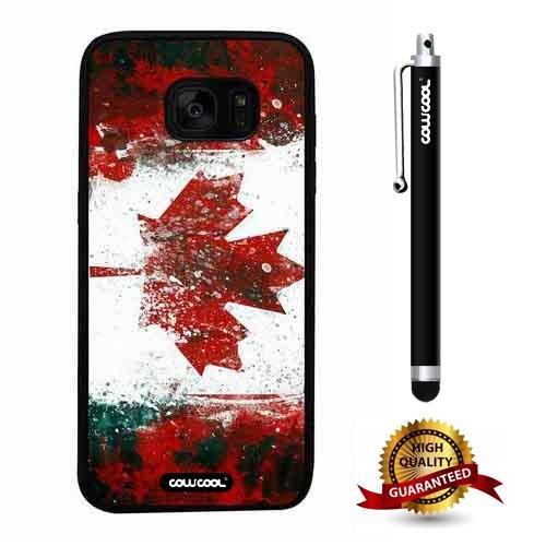 pretty nice 1f1e1 36320 Amazon.com: Galaxy S7 edge Case, Canadian Case, Cowcool Ultra Thin ...