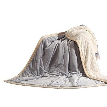 Amazon.com: LJFYXZ - Manta de felpa, suave y transpirable ...