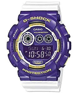 Casio G-Shock for Men - Digital GD-120CS-6DR Resin Watch