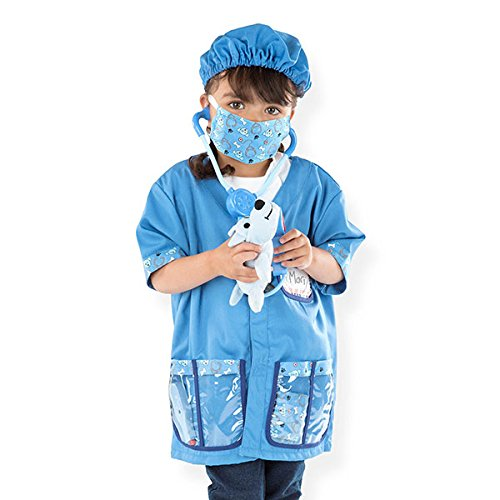 Melissa and Doug Veterinarian Role Play Costume Set (Costume Role Playset)
