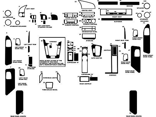 1996 bmw 328i center console - 5