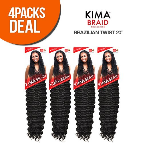 Ocean Twist - Harlem125 Synthetic Hair Braids Kima Braid Brazilian Twist 20