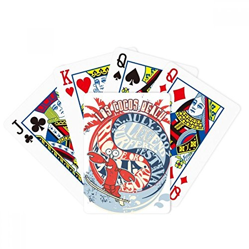 World Beach Lobster Marine Organism Poker Playing Card Tabletop Board Game Gift by beatChong