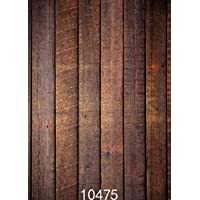 SJOLOON Vintage Wood Plank 5x7ft Vinyl Photography Background Backdrops Photo Studio Props 10475