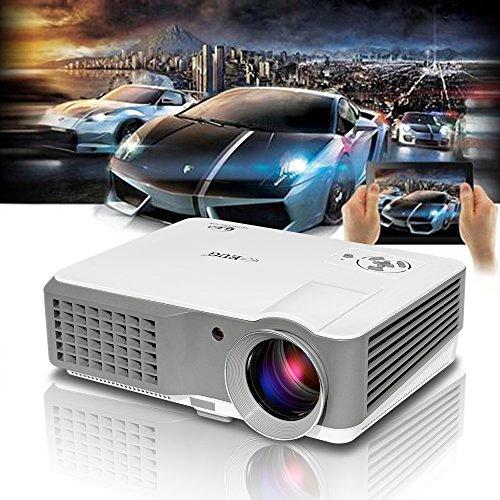 Free Shipping Eug 3600 Lumens Portable Projector Hdmi