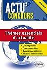 Thèmes Essentiels d'Actualité 2016-2017 par Cavaillé