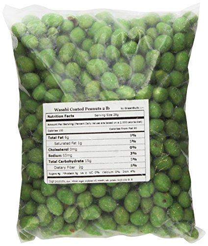 (SweetGourmet Wasabi Coated Peanuts, 2 Lb)