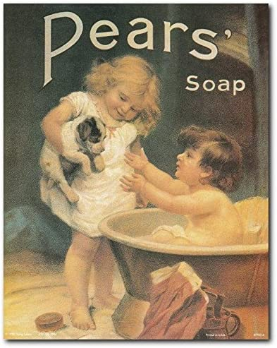 Pear/'s Soap 19 Vintage Advertising Print//Poster
