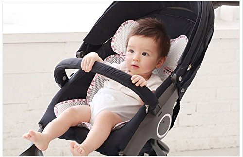 7 Available Colors Manito Breath Pro Plus 3D Mesh Seat Pad//Cushion//Liner for Stroller and Car Seat Blue