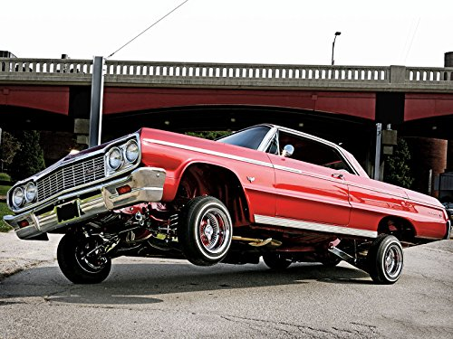 Awesome 1964 Chevy Impala Low Riders Posters 24 X 18 Super High