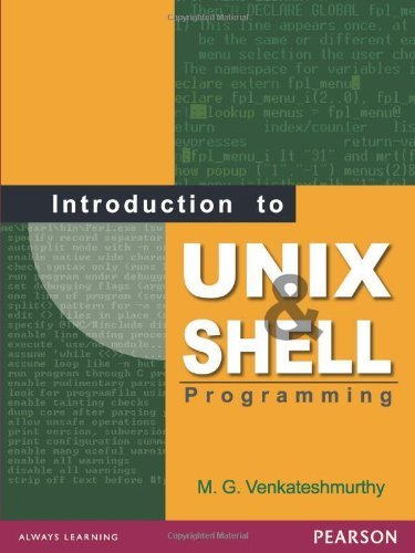 Introduction to Unix and Shell Programming by M.G. Venkateshmurthy (2009-08-10) by Pearson Education Canada
