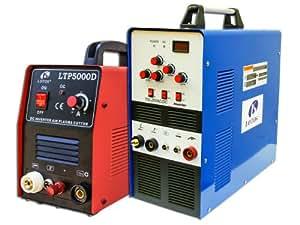 Lotos Combo 50A Plasma Cutter TIG200 AC/DC Welder Free Mask/Pedal LTP5000DTIG200