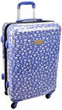 Tommy Hilfiger Palm Tree ABS 78 cms Lavender Hard Sided Suitcase (8903496086614)