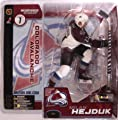 McFarlane Toys NHL Sports Picks Series 1 Action Figure: Milan Hejduk (Colorado Avalanche) White Jersey