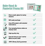 Premium Baby Handprint, Footprint & Picture Frame
