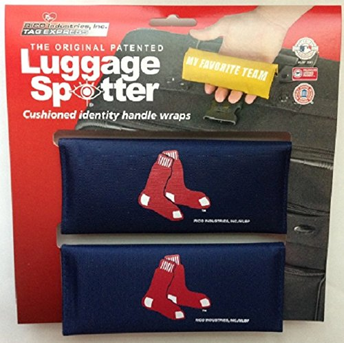 red-sox-luggage-spotter-suitcase-handle-wrap-bag-tag-locator-with-id-pocket-2-pack-closeout-great-gi