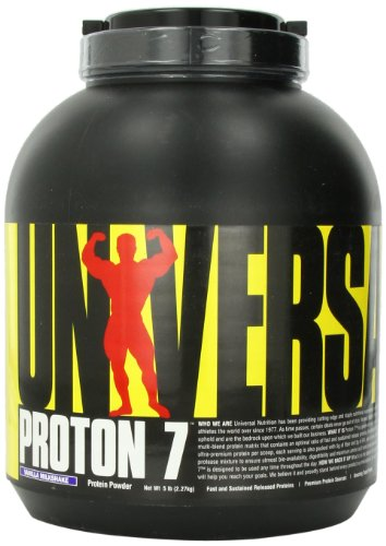Universal Nutrition Proton 7 Milkshake, Vanilla, 5 Pounds Review