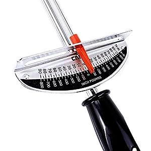 Presa 31003 Beam Style Torque Wrench, 3/8-Inch