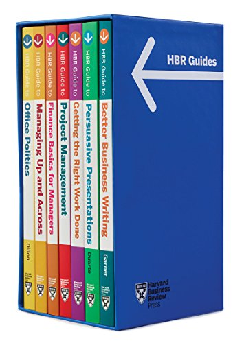 HBR Guides Boxed Set (7 Books) (HBR Guide Series) ()