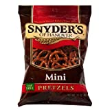 Snyder's of Hanover Mini Pretzels- Insane Value Pack - 60 .5oz Bags