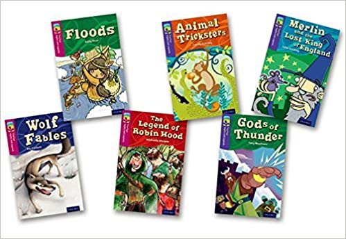 Book Oxford Reading Tree TreeTops Myths and Legends: Levels 10 and 11: Pack of 6 by Pie Corbett (2014-01-09)