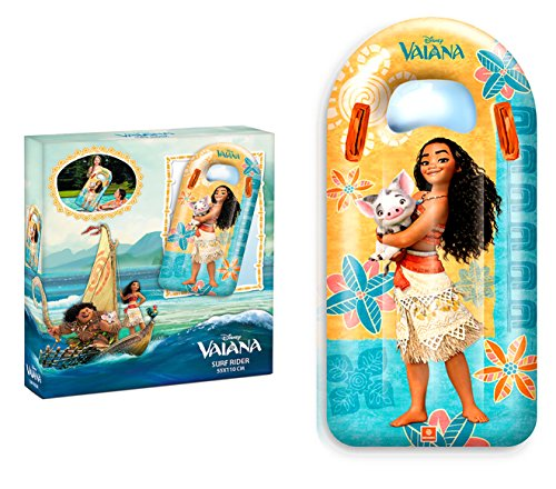 Disney Vaiana Childs Kid Inflatable Surf Board Water Pool Boat,Official Licensed