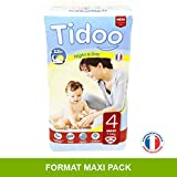 Tidoo 50 couches Taille 4 : Maxi 7 18Kg