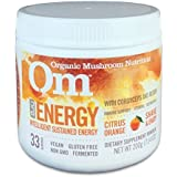 Om Organic Mushroom Nutrition Energy with Cordyceps & Reishi, 200-Grams